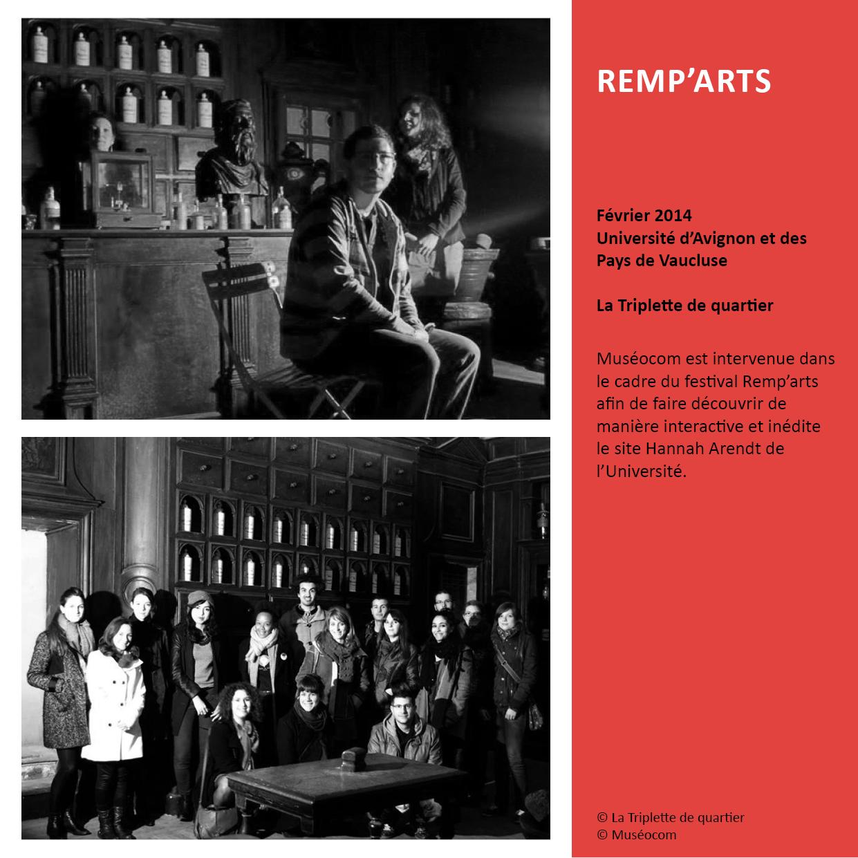 REMP'ARTS