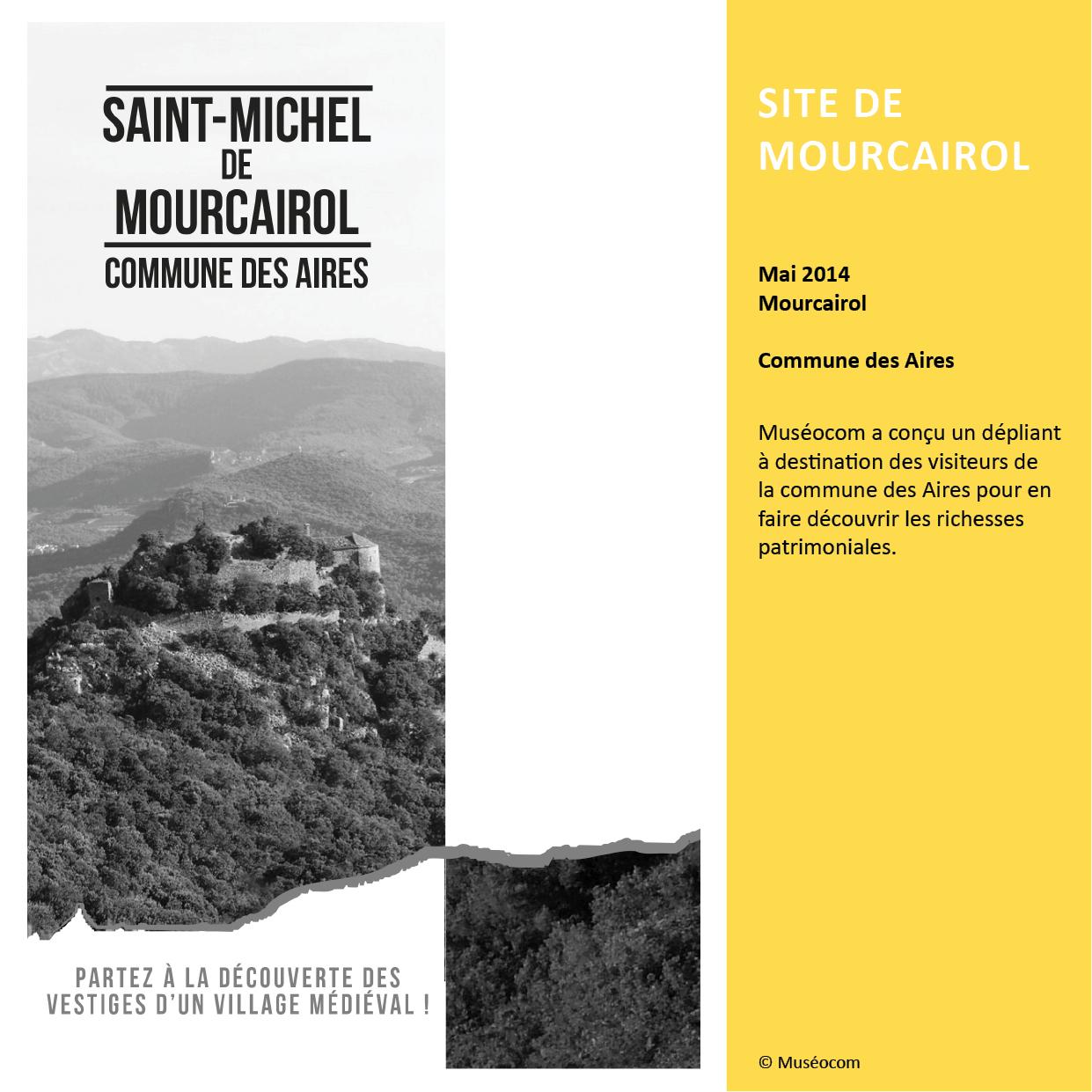 SITE DE MOURCAIROL ÉTUDE TOURISTIQUE