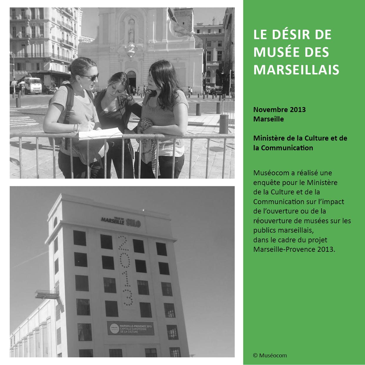 LE DÉSIR DE MUSÉE DES MARSEILLAIS