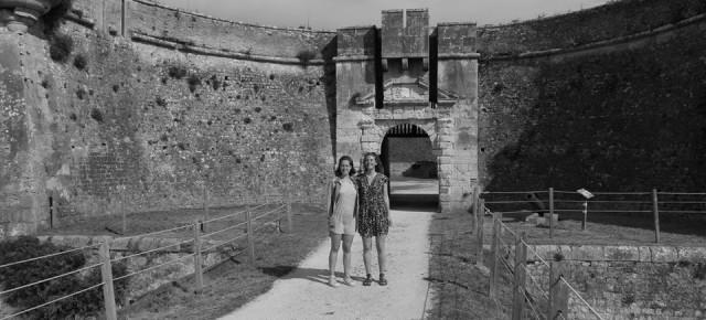 MUSÉOCOM S'EXPORTE #23 Rébecca Charrier et Mathilde Heuzé au Fort la Prée, à l'Île de Ré