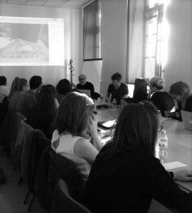 Alain Batifoulier et Samuel Bester aux Rencontres Professionnelles, Université d'Avignon, 05/10/2016 ©Muséocom – Léa Muron