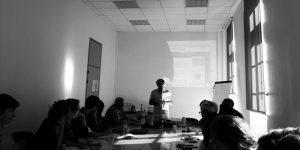 Rencontres avec Alain Dedieu et Bernard Mossé - Université d'Avignon - 03/10/2016 ©Muséocom – Mathilde Heuzé