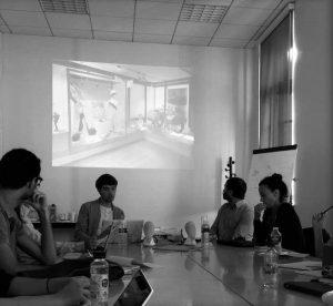 Rencontres avec Clément Le Minoux et Cécile Bienfait, Université d'Avignon - 04/10/2016 ©Muséocom - Audrey Cazala