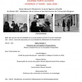 Muséocom vous ouvre ses portes jeudi 17 mars à l'Université d'Avignon