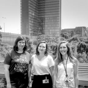 Muséocom s'exporte #30 Lucie Dauptain, Anne-Laure Michel et Léa Laffond à la Bibliothèque nationale de France