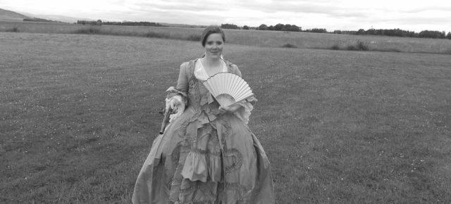 Muséocom s'exporte #33 Caroline Fournier sur le champ de bataille de Culloden Moor en Ecosse