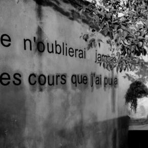[PROJETS MUSÉOCOM] Affichage de la parole des spectateurs dans la ville d'Avignon