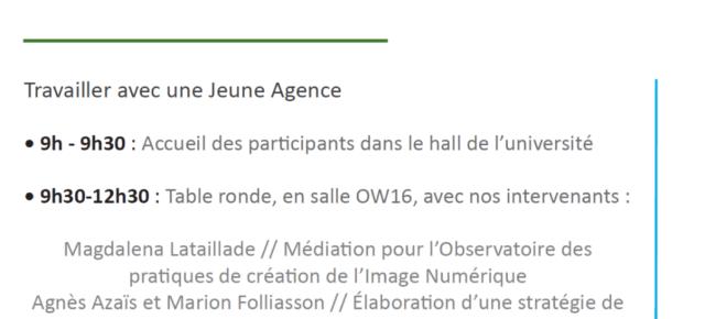 LES RENCONTRES MUSEOCOM - Muséocom vous donne rendez-vous le jeudi 15 Mars 2018 à l'Université d'Avignon