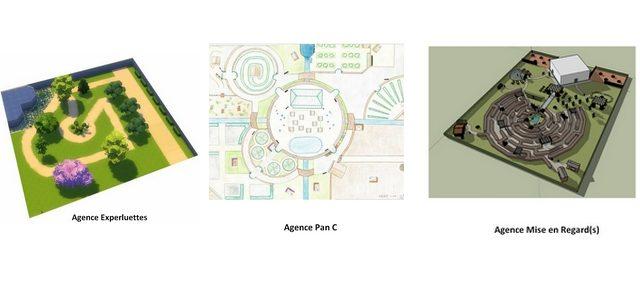 [PROJET DE SIMULATION] Imaginer les futurs jardins de l'Épicurium