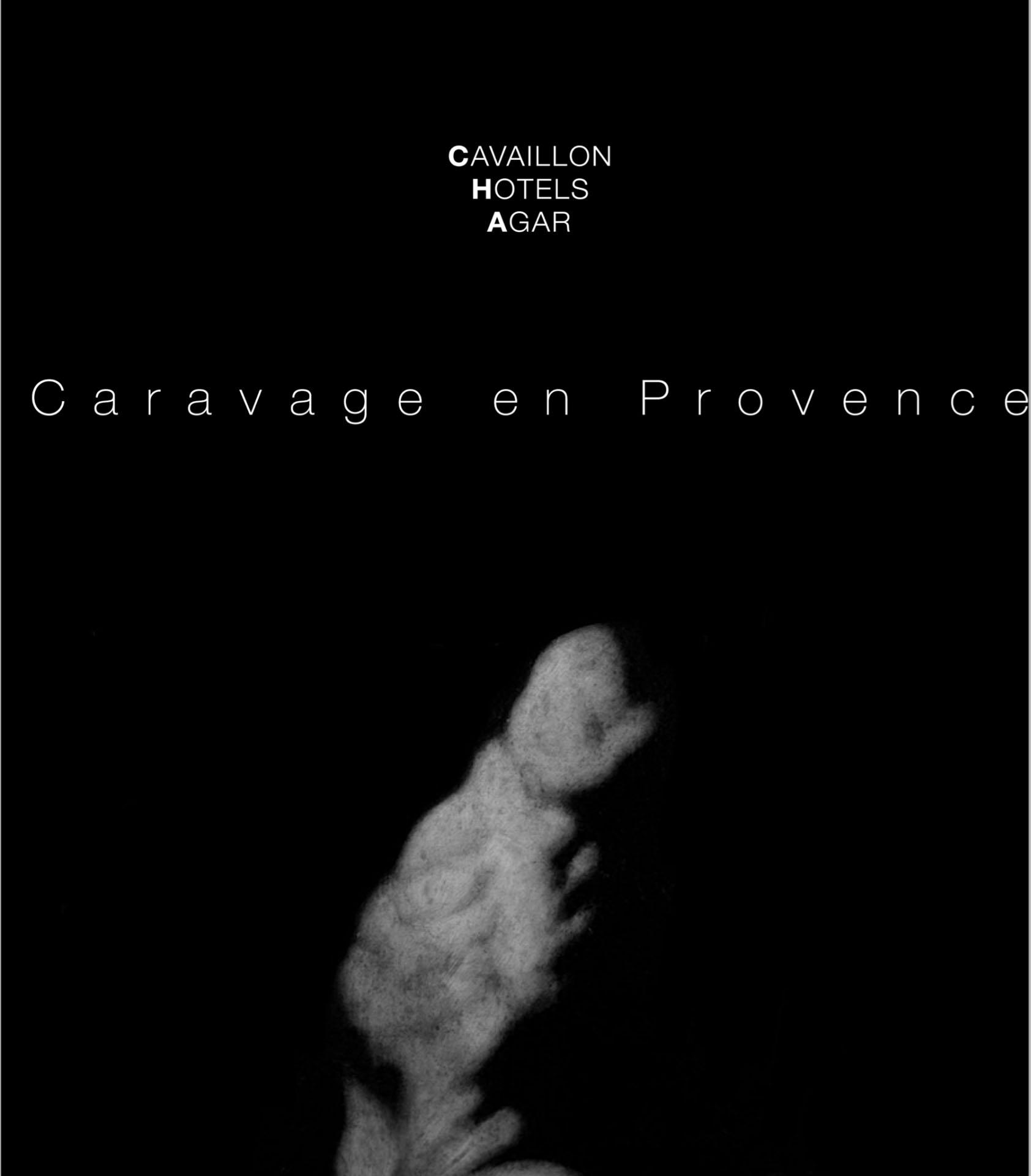 Hôtel d'Agar – Caravage en Provence N&B
